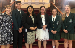 School Captains' Trip to Parliament